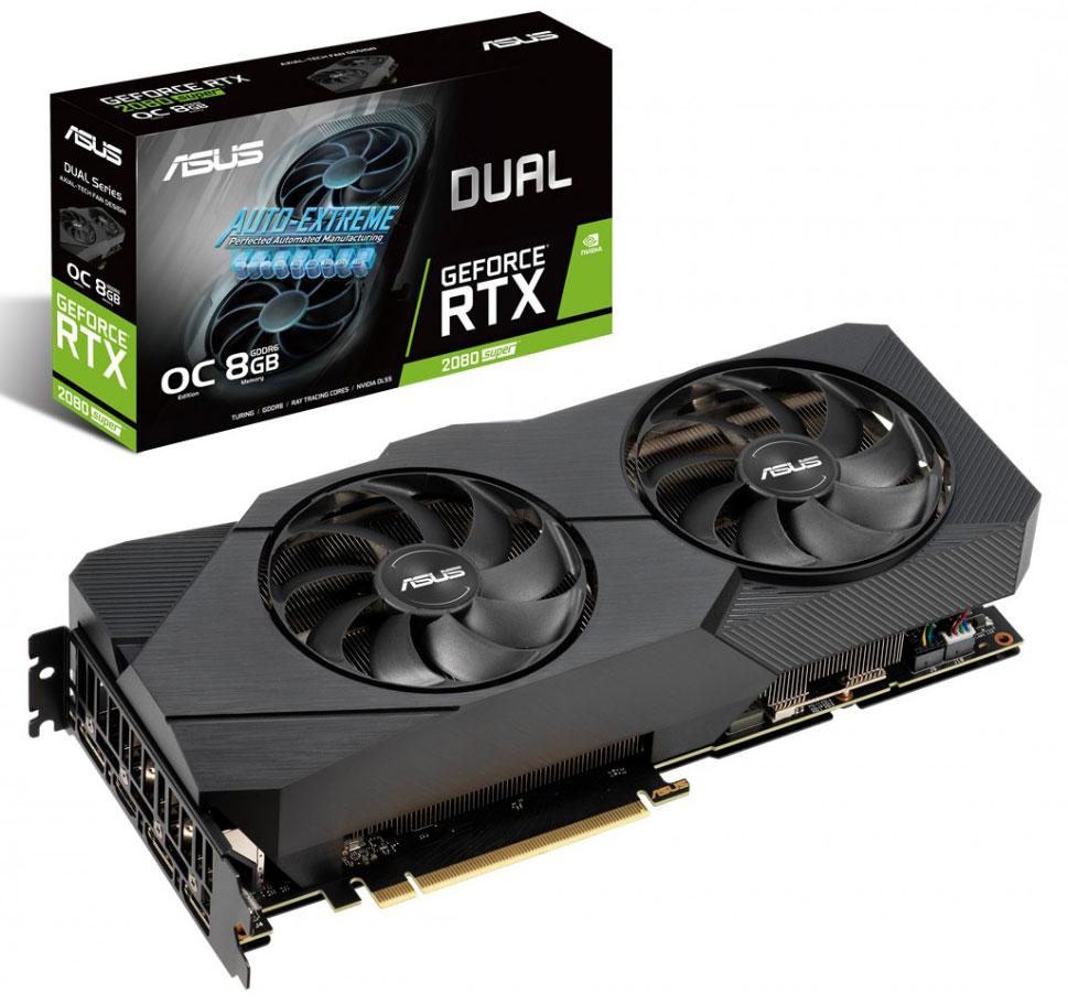 ASUS GeForce RTX 2080 Super Dual OC EVO 8GB V2