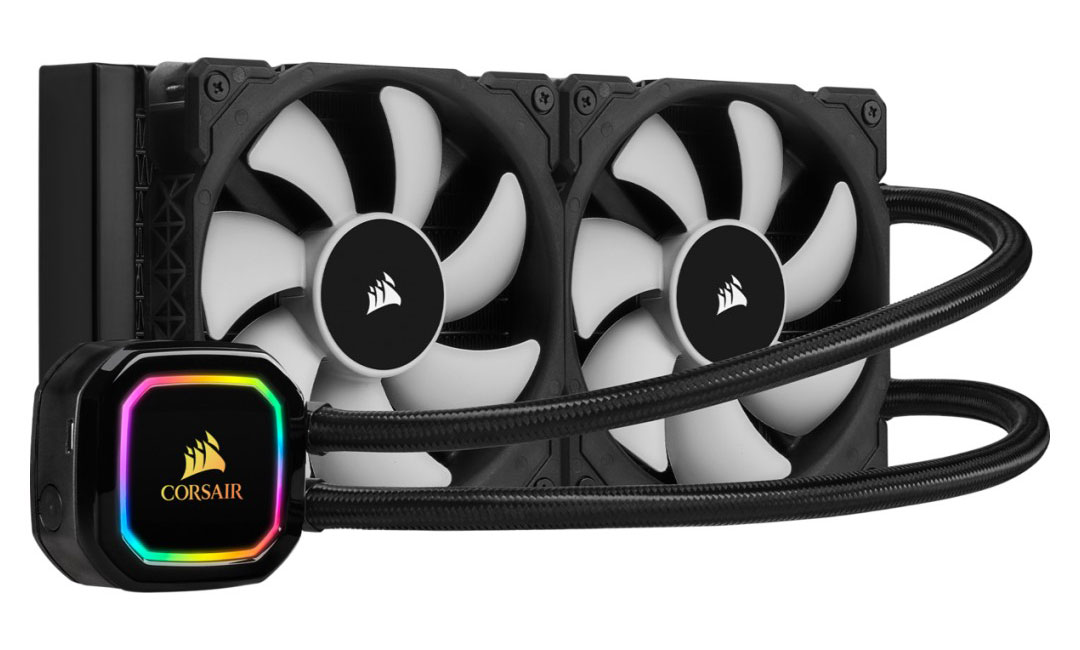 Corsair iCUE H100i RGB Pro XT 240mm AIO CPU Cooler