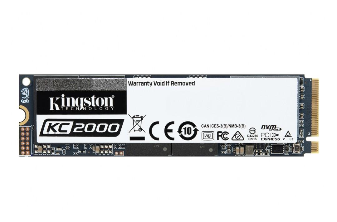 Kingston KC2000 M.2 NVMe SSD 500GB
