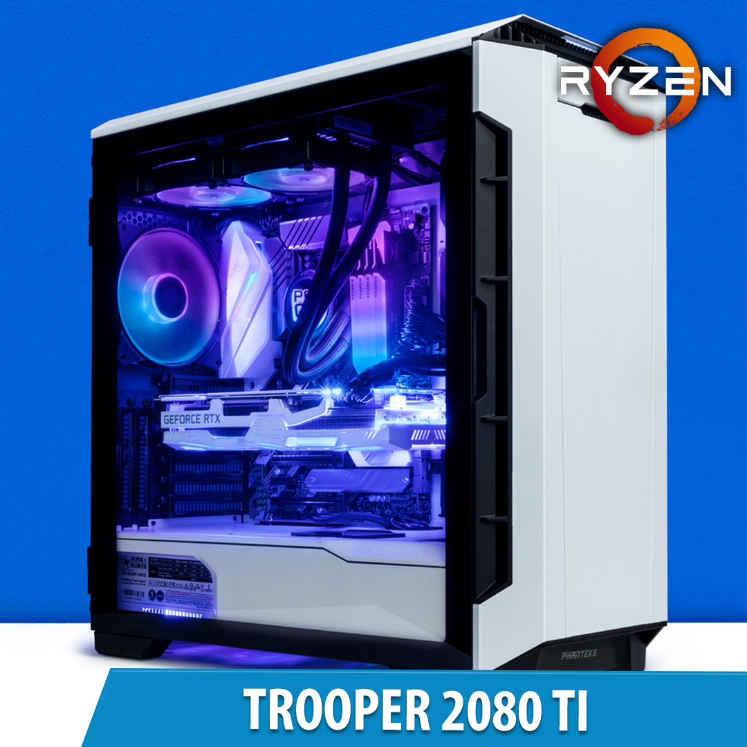 PCCG Trooper 2080 Ti Gaming System