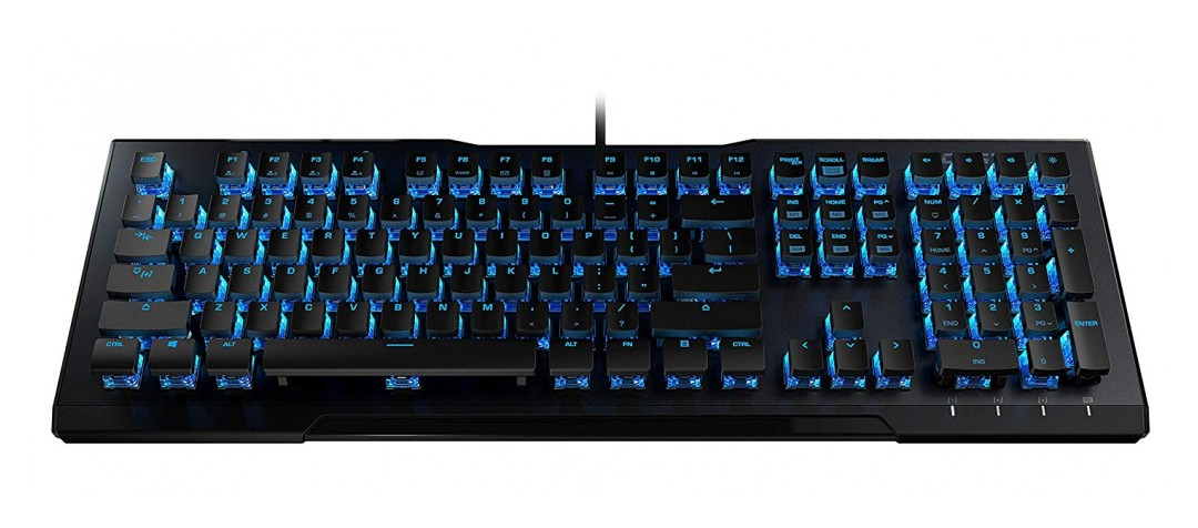 Roccat Vulcan 80 Mechanical Gaming Keyboard Brown Switch