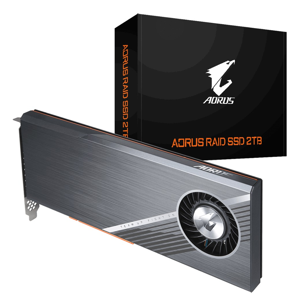 Gigabyte AORUS PCIe Raid SSD 2TB (4x512GB NVMe)
