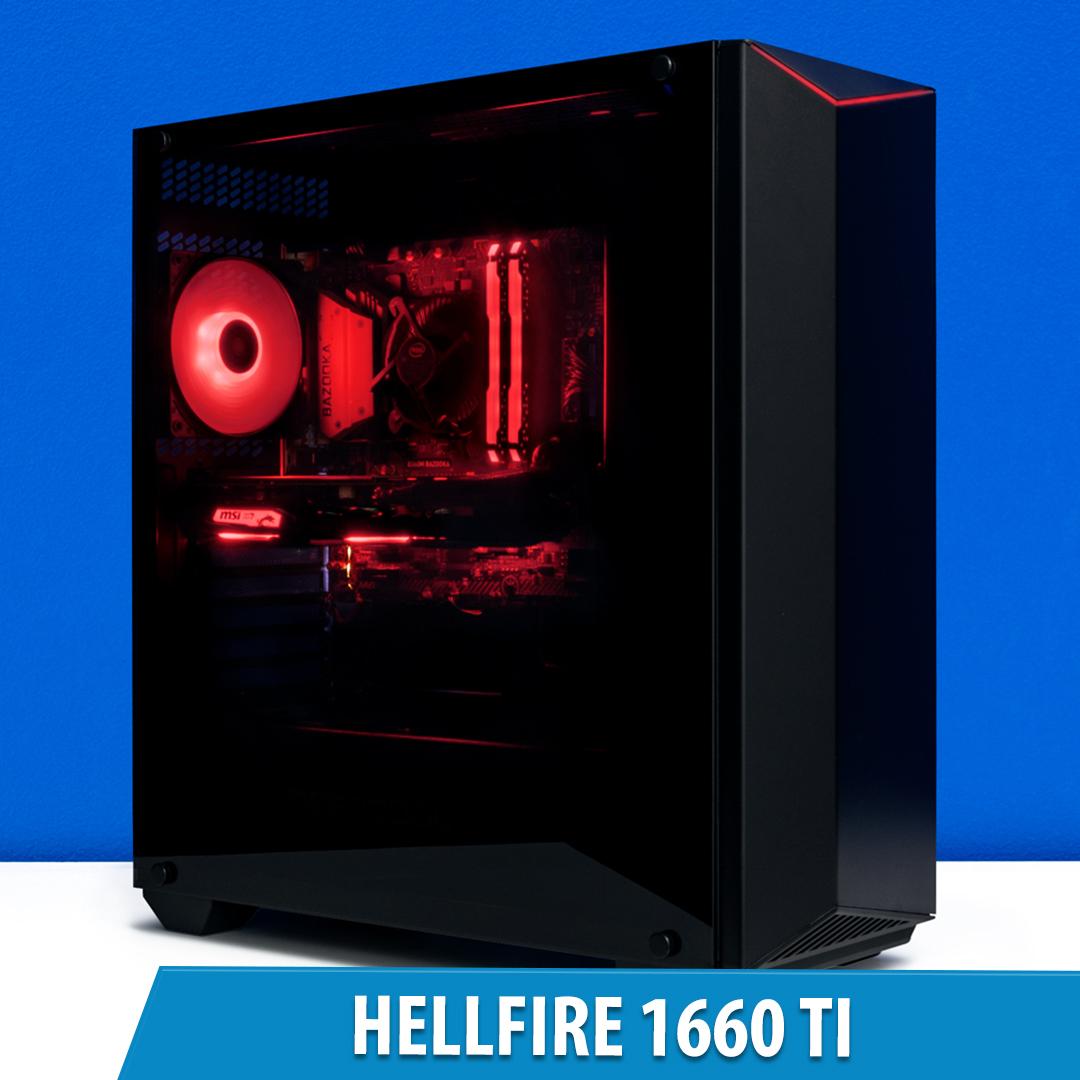 PCCG Hellfire 1660 Ti Gaming System