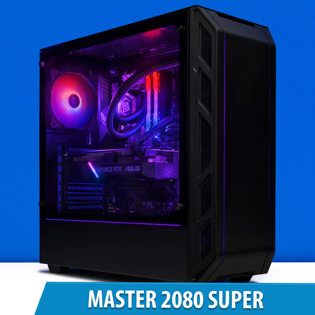 PCCG Master 2080 Super Gaming System