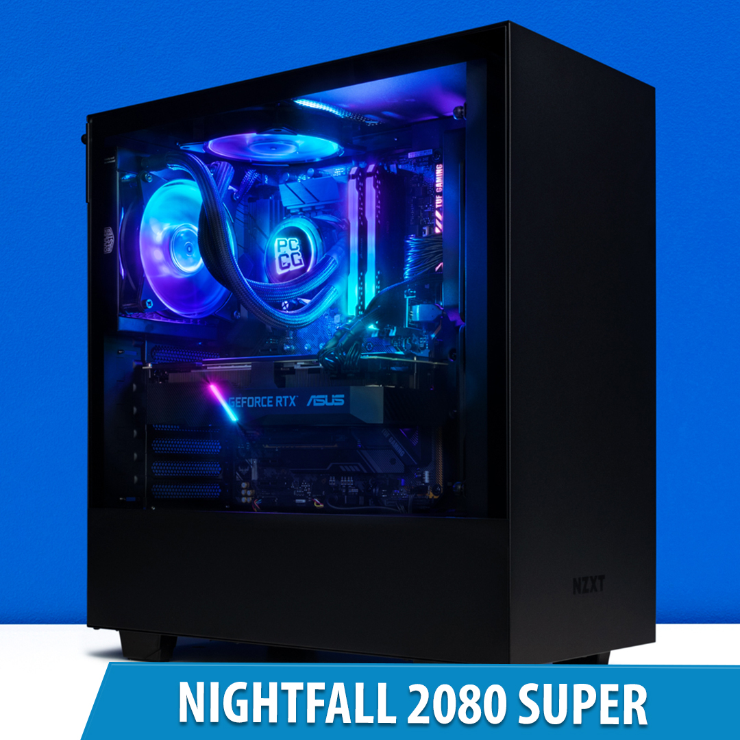 PCCG Nightfall 2080 Super Gaming System