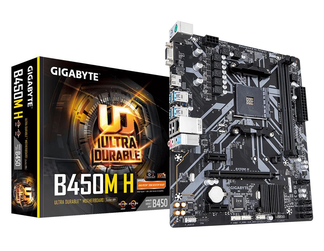 Gigabyte B450M-H Motherboard