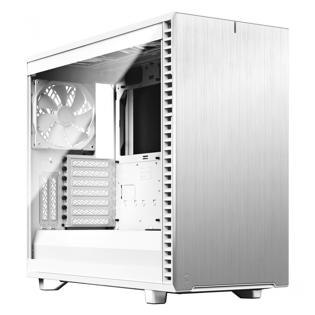 Fractal Design Define 7 Tempered Glass White