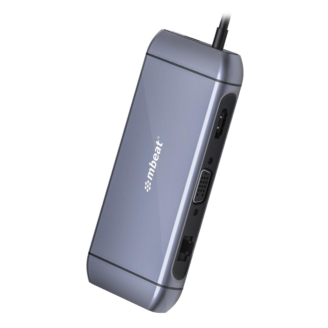 mbeat Elite X9 9 in 1 USB-C Multifuntion Dock