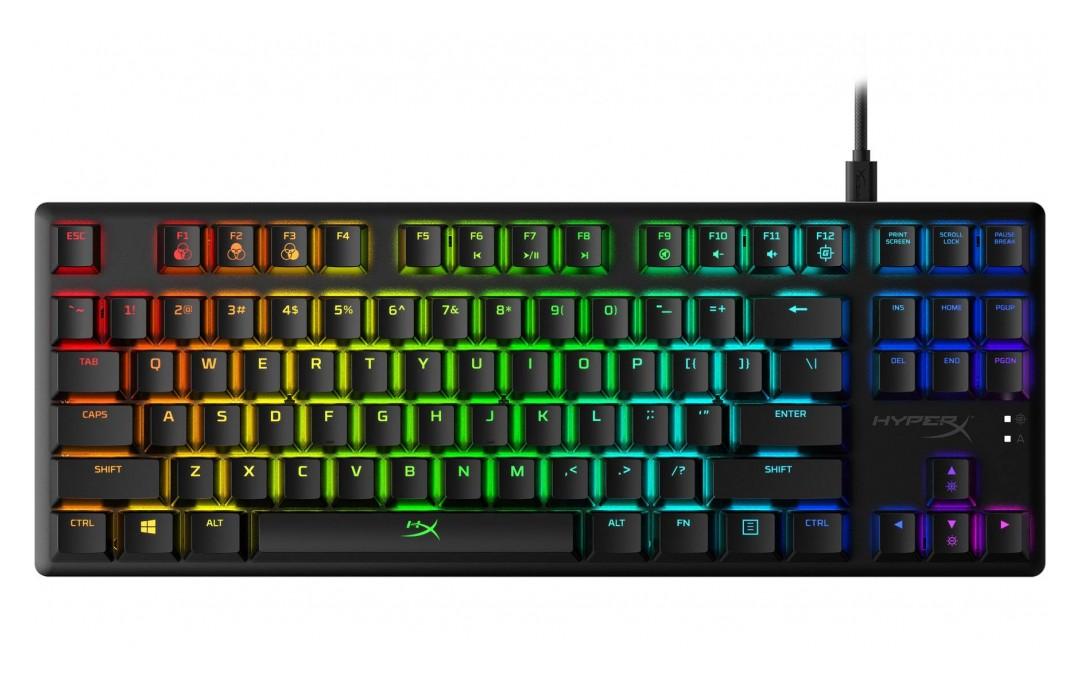 HyperX Alloy Origins Core TKL RGB Mechanical Keyboard Red Switch