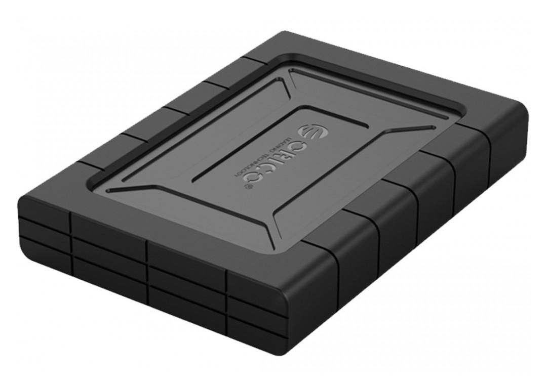 Orico 2.5in USB-C 3.1 Gen2 Rugged Hard Drive Enclosure