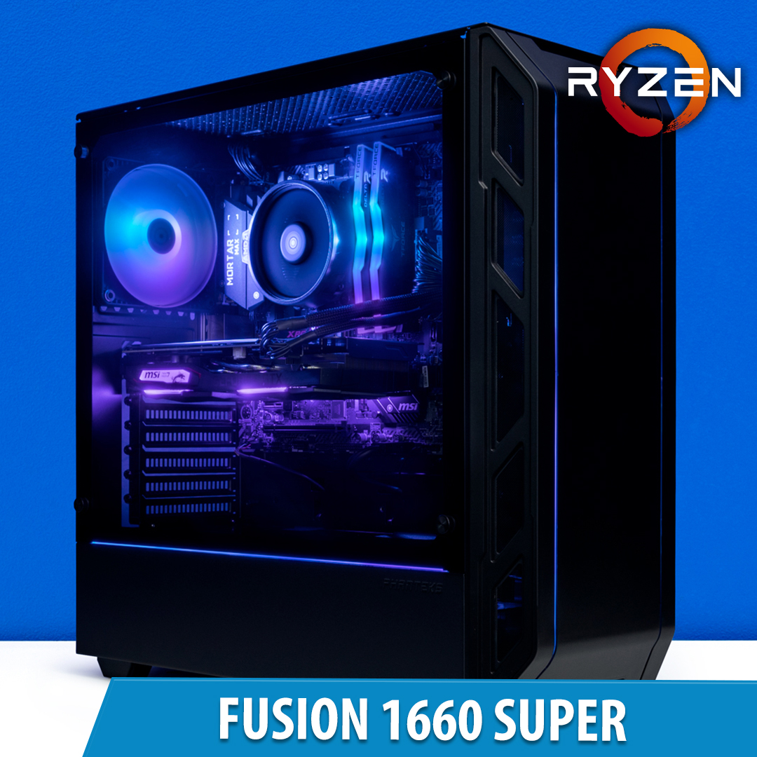 PCCG Fusion 1660 Super Gaming System