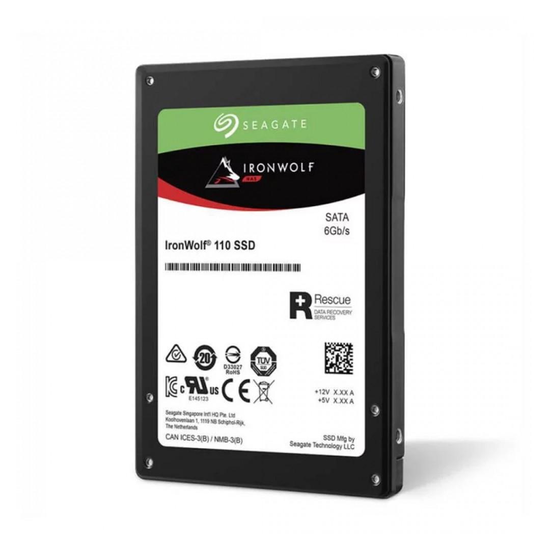 Seagate Ironwolf 110 2.5in SATA NAS SSD 3.84TB