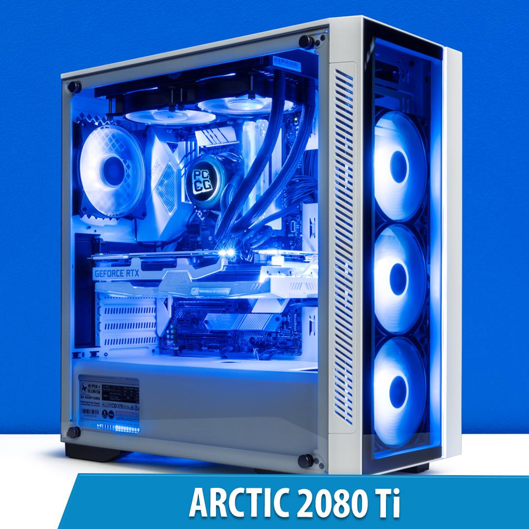 PCCG Arctic 2080 Ti Gaming System