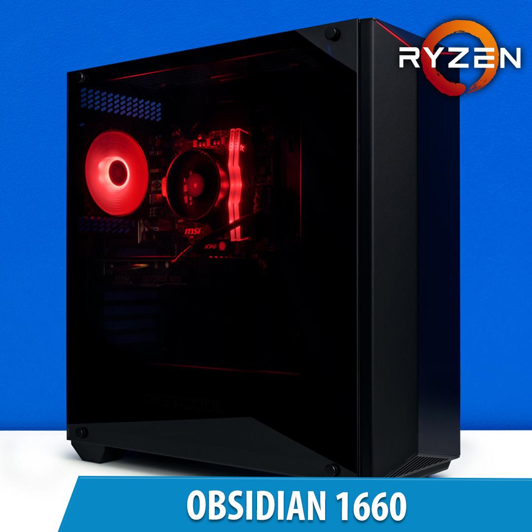 PCCG Obsidian 1660 Gaming System