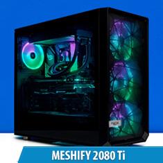PCCG Meshify 2080 Ti Gaming System