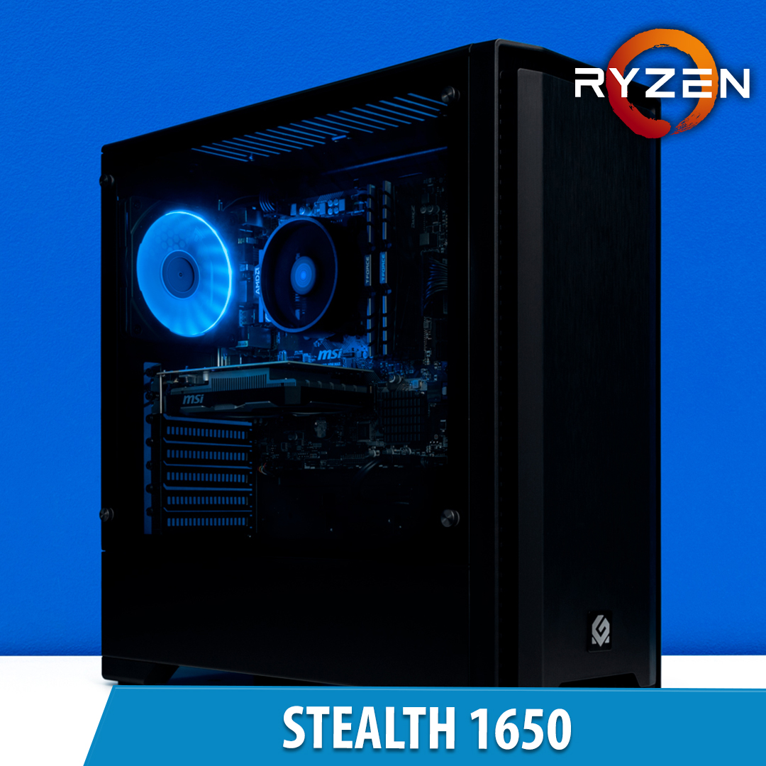 PCCG Stealth 1650 Gaming System