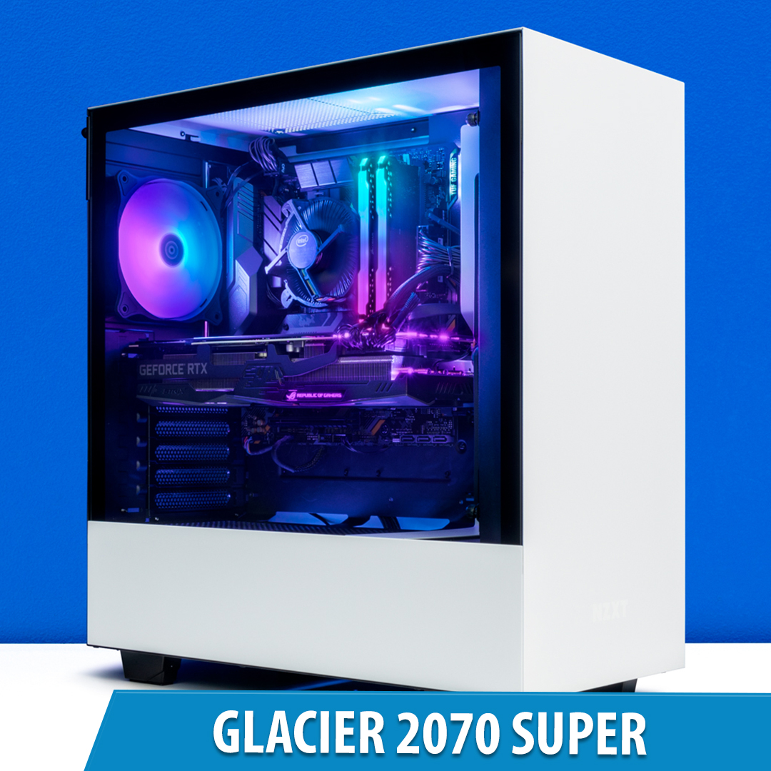 PCCG Glacier 2070 Super Gaming System