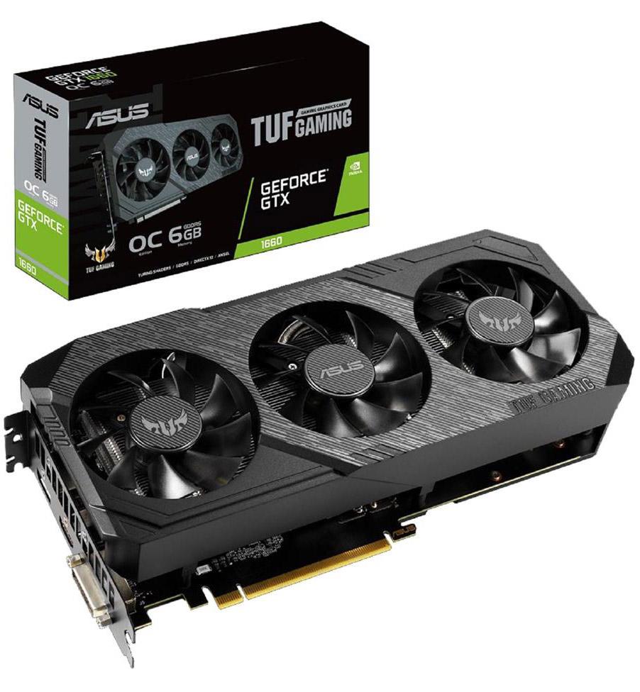 ASUS GeForce GTX 1660 TUF Gaming X3 6GB