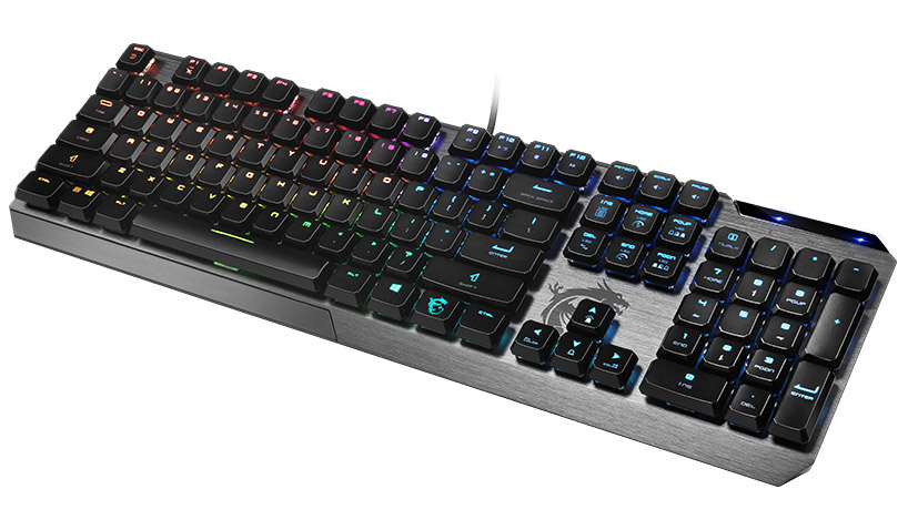 MSI Vigor GK50 Low Profile Mechanical Keyboard