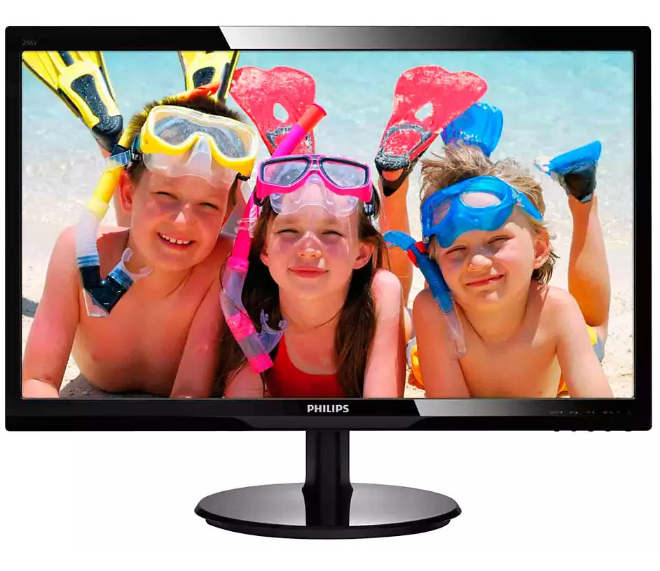 Philips 246V5LHAB FHD 24in Monitor with Speakers