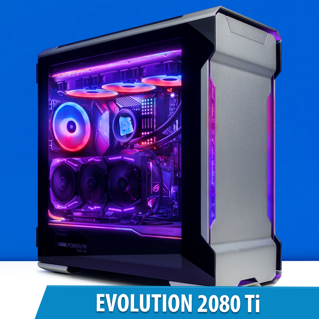 PCCG Evolution 2080 Ti Gaming System