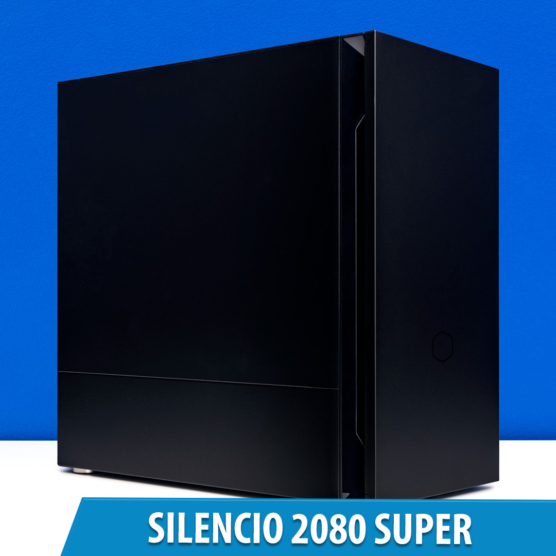 PCCG Silencio 2080 Super Gaming System