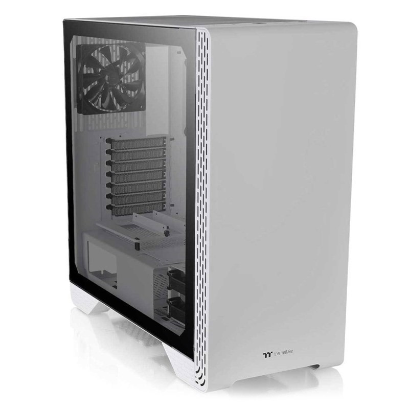 Thermaltake S500 Tempered Glass Snow Edition Mid Tower Chassis