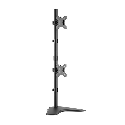 Brateck LDT12-T02V Dual Screens Economical Monitor Stand