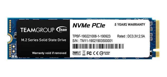 Team MP34 M.2 NVMe SSD 512GB