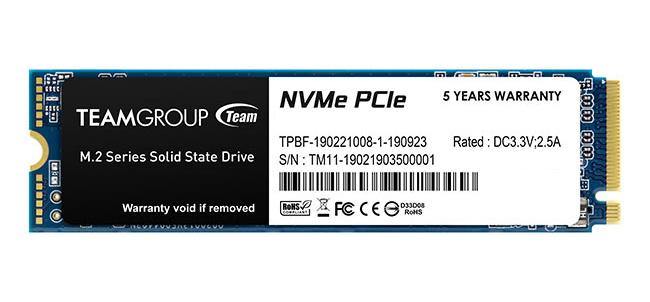 Team MP33 M.2 NVMe SSD 512GB