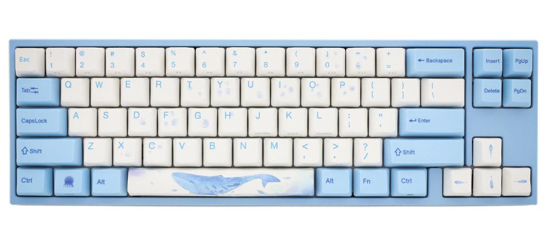 Ducky MIYA Pro Sea Melody PBT Keyboard Electro-Capacitive Rosery