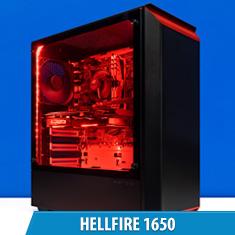 PCCG Hellfire 1650 Gaming System