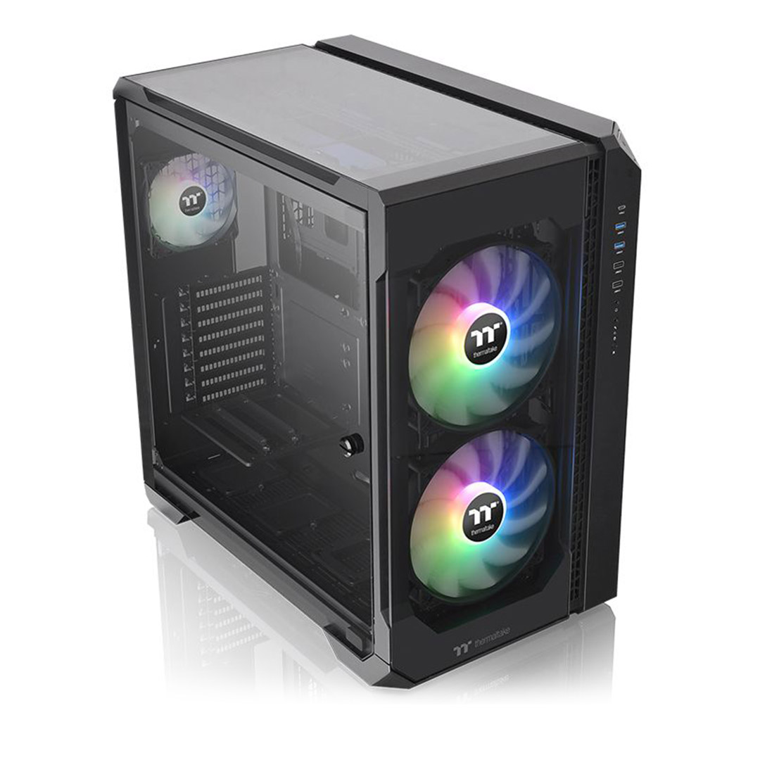 Thermaltake View 51 A-RGB Tempered Glass Case Black