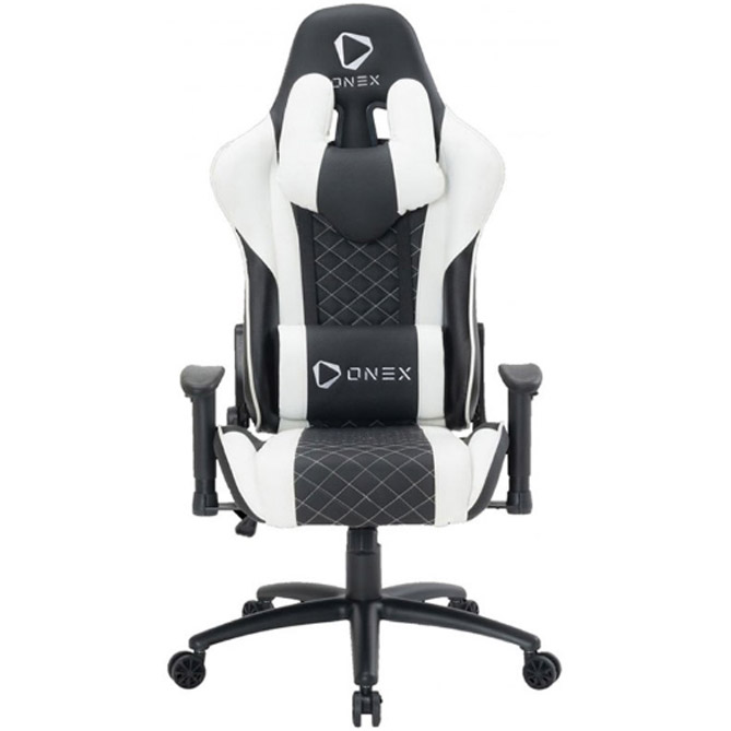 ONEX GX3 Gaming Chair Black White