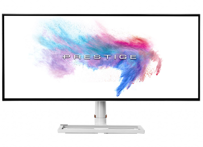 MSI Prestige PS341WU WUHD IPS 34in Monitor