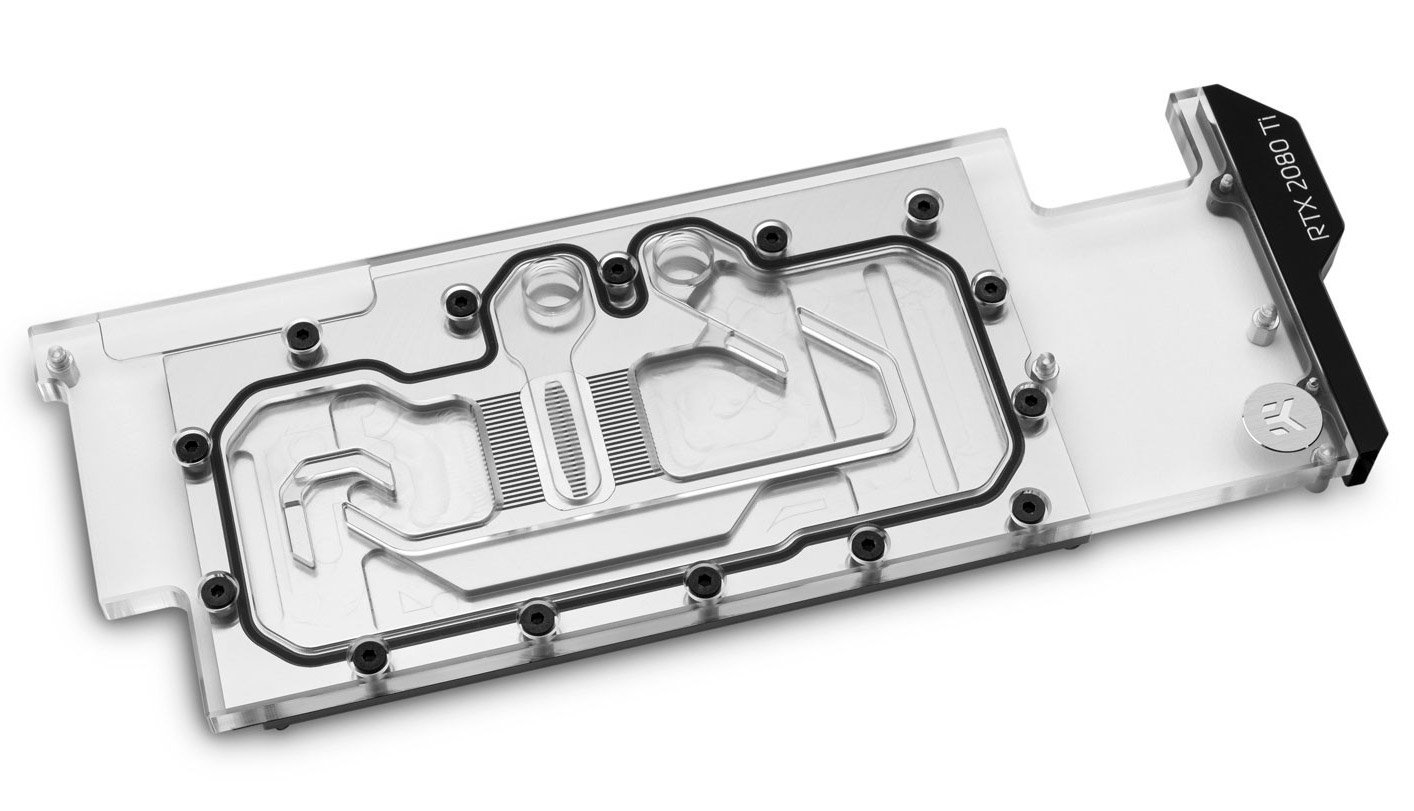 EK Quantum Vector Water Block Direct RTX Ti D-RGB Nickel Plexi