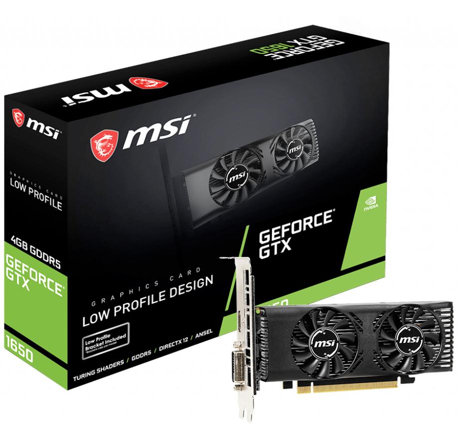 MSI GeForce GTX 1650 Low Profile 4GB