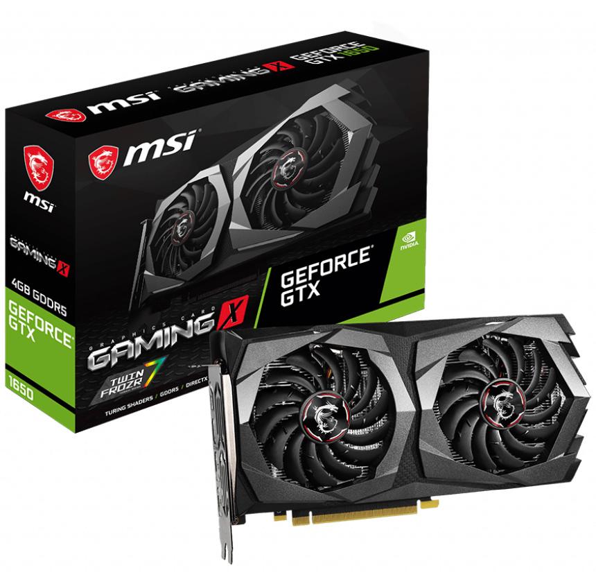 MSI GeForce GTX 1650 Gaming X 4GB