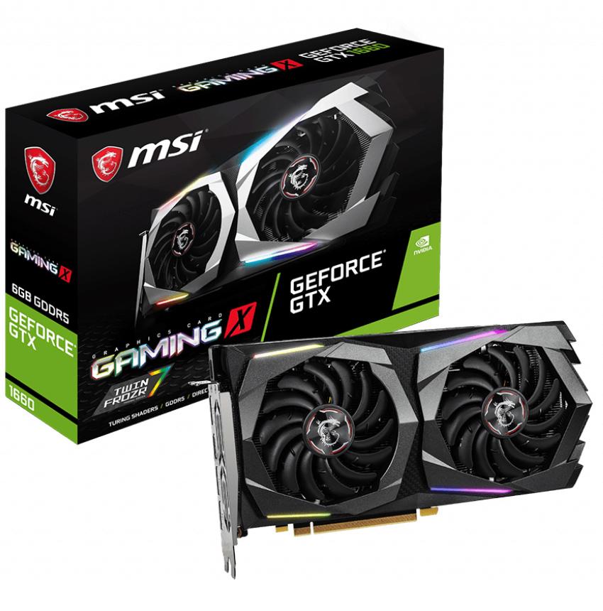 MSI GeForce GTX 1660 Gaming X 6GB