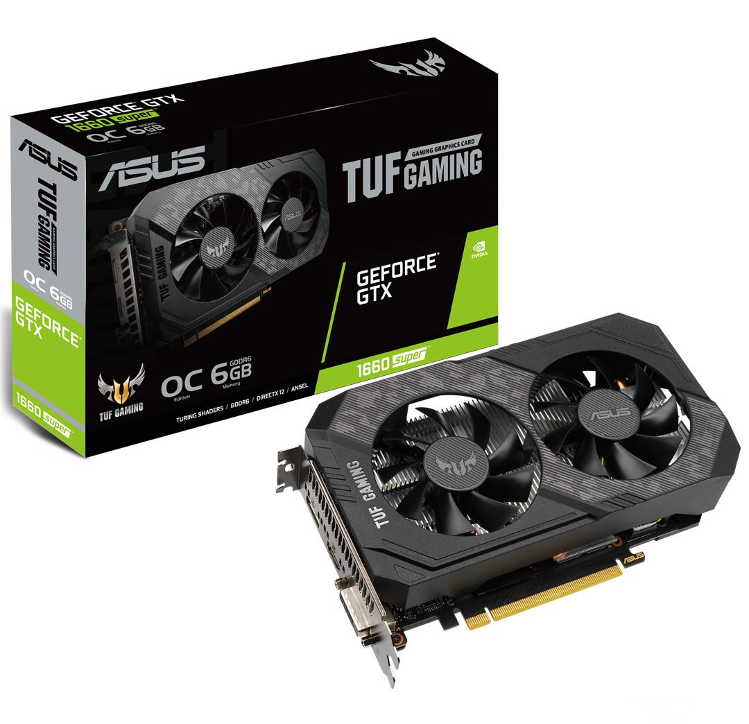 ASUS GeForce GTX 1660 Super TUF Gaming OC 6GB
