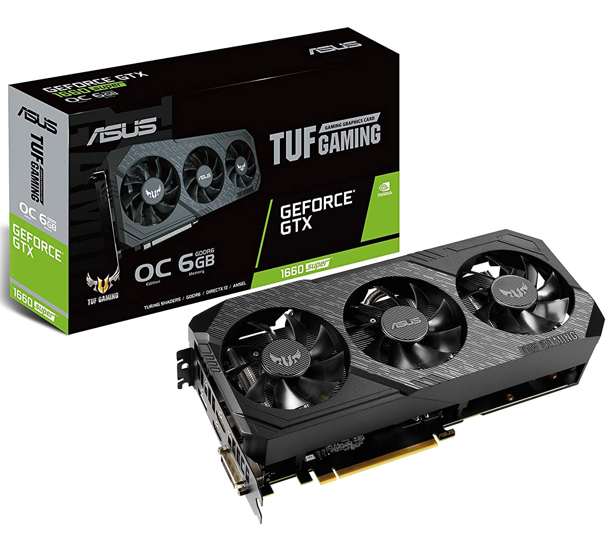 ASUS GeForce GTX 1660 Super TUF Gaming X3 OC 6GB