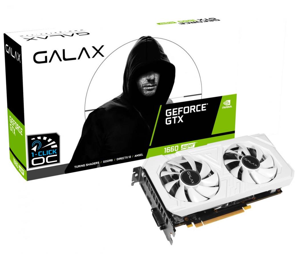 Galax GeForce GTX 1660 Super EX OC 6GB White