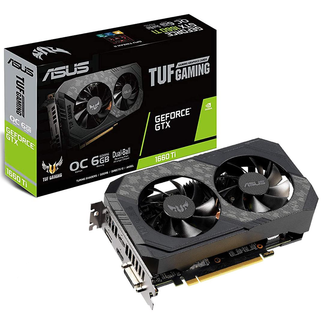 ASUS GeForce GTX 1660 Ti TUF OC 6GB