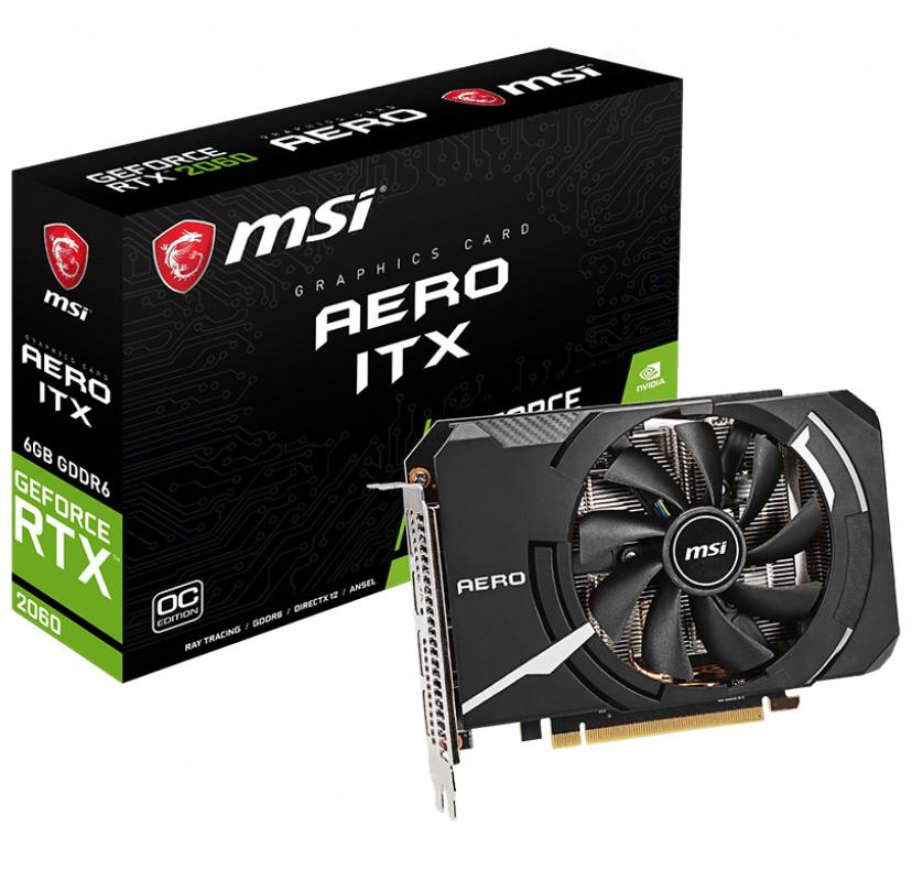 MSI GeForce RTX 2060 Aero ITX OC 6GB