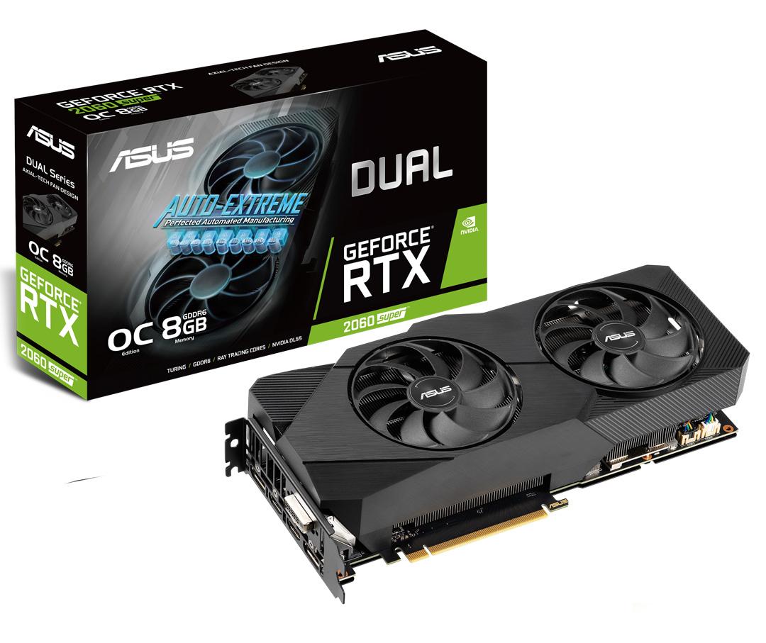ASUS GeForce RTX 2060 Super Dual OC EVO 8GB