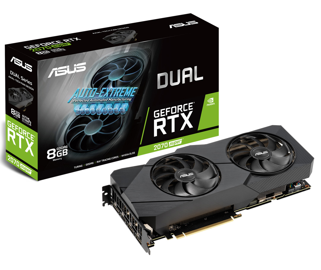 ASUS GeForce RTX 2070 Super Dual OC EVO 8GB