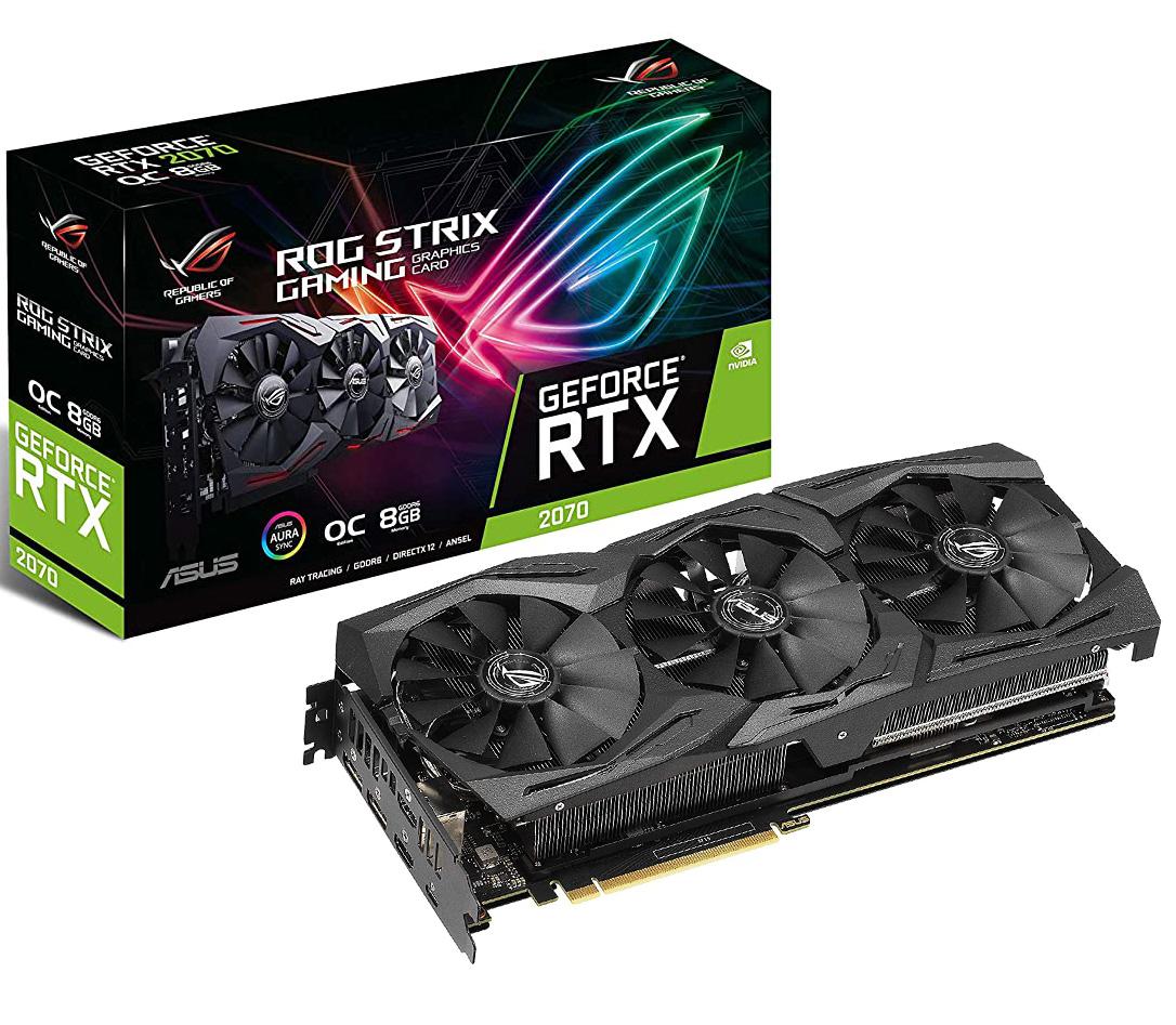 ASUS ROG Strix GeForce RTX 2070 Super Gaming OC 8GB