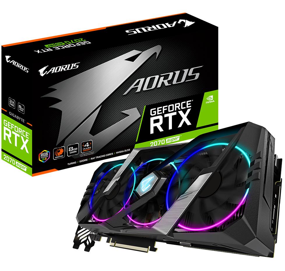 Gigabyte GeForce RTX 2070 Super Aorus 8GB