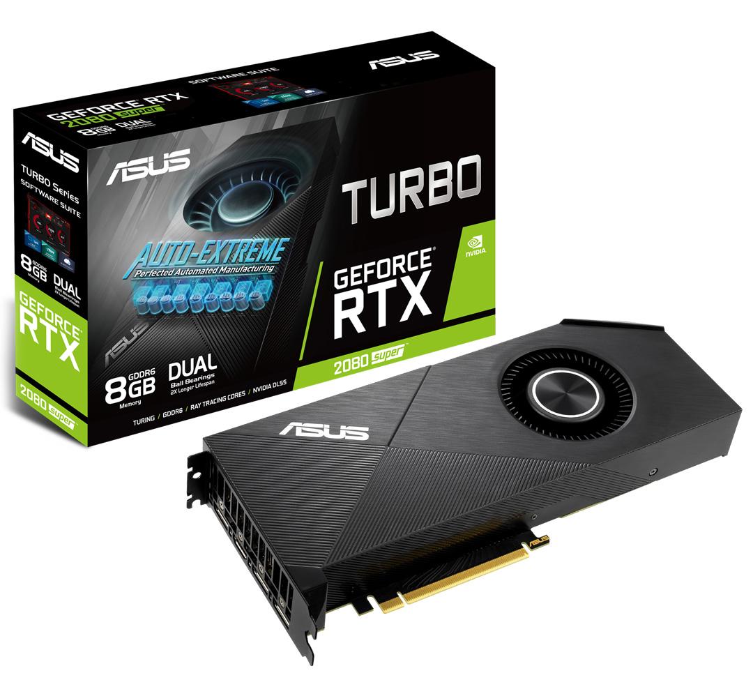 ASUS GeForce RTX 2080 Super Turbo EVO 8GB
