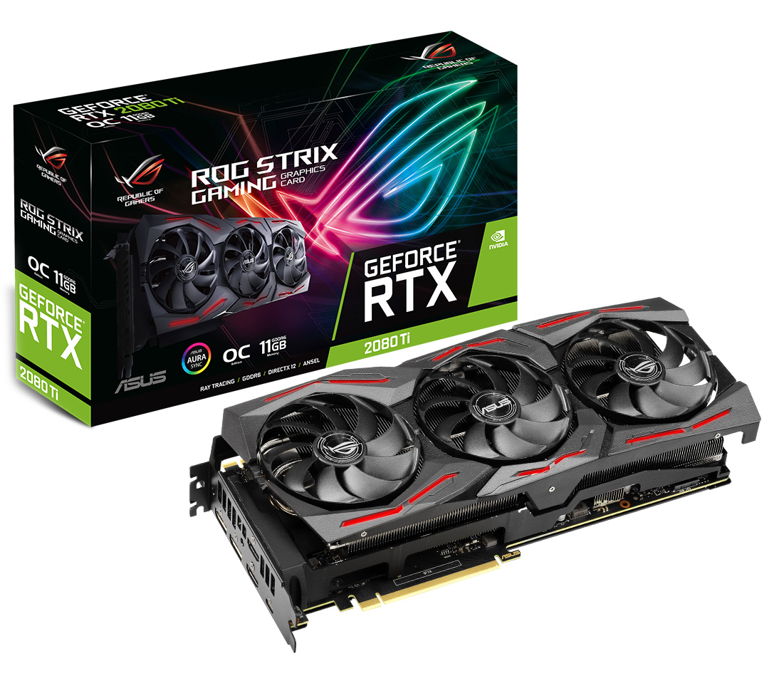 ASUS ROG Strix GeForce RTX 2080 Ti OC 11GB